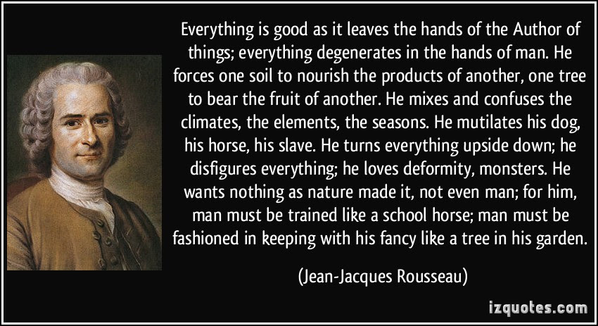 Quotes About Jean Jacques Rousseau 35 Quotes