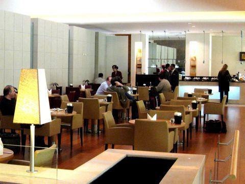 Qatar lounge interior