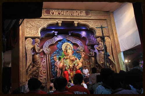 Lalbagh Chya Raja Visarjan Journey 2013 Starts From Here .. by firoze shakir photographerno1