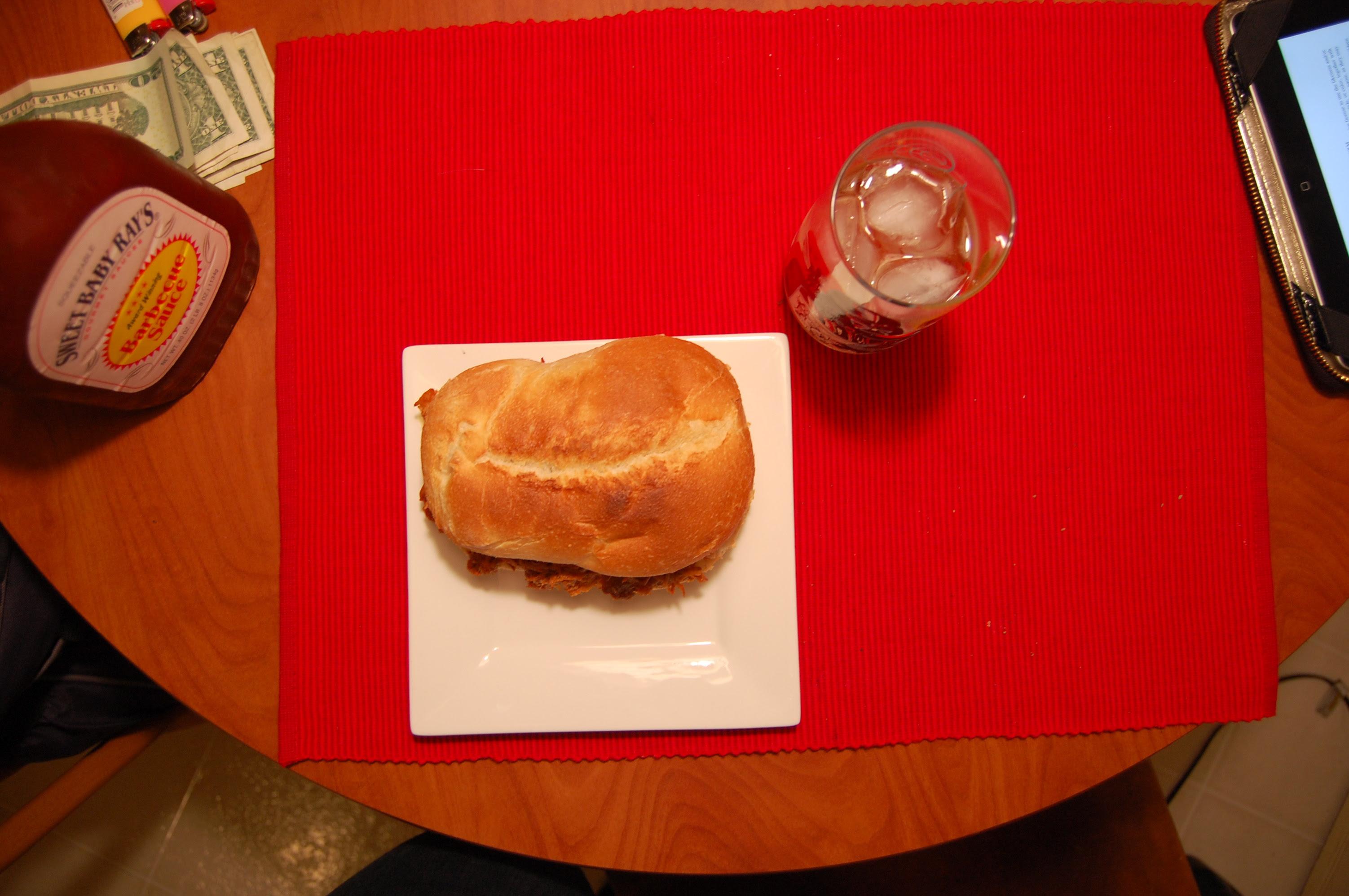 Pulled Chicken Sandwich Heaven