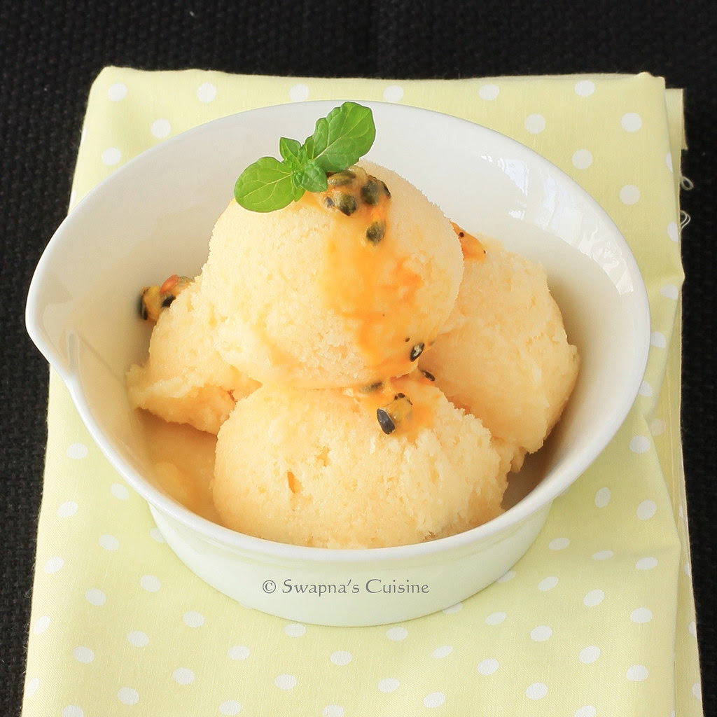 Pinkberry Passion Fruit Frozen Yogurt Recipe