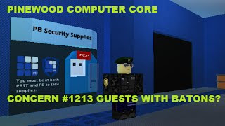 Roblox Pinewood Computer Core Emergency Coolant Code Giveaway