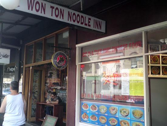 Won-Ton Noodle Inn King Street Newtown Sydney