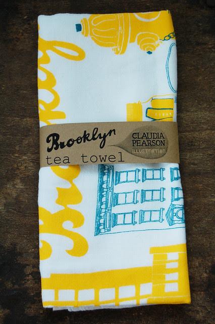 Brooklyn Tea Towel