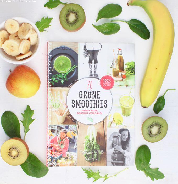 Grüne Smoothies, Detox, Smoothiebuch, Buch, Hölker Verlag