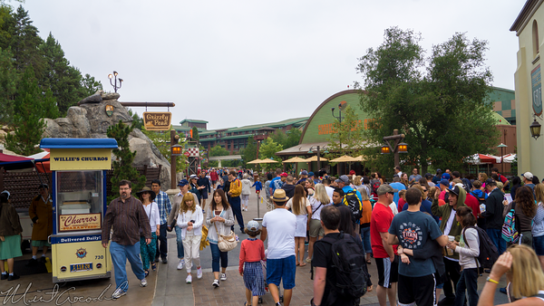 Disneyland Resort, Disney California Adventure, Grizzly, Peak, Airfield