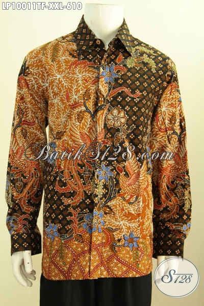 iBajui Batik Premium iLengani iPanjangi Size XXL Hem Batik Full
