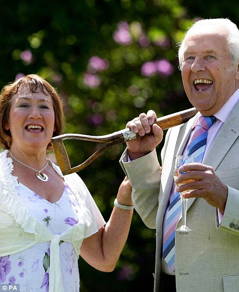 Brian Caswell, 72, won a EuroMillions jackpot of £24,951,269 in June 2009. He lives in a five-bedroom detached home in Bolton with wife Joan, 78