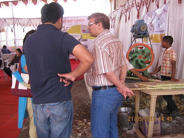 Anandgram Talegaon Dhamdhere receives huge response! What is more sweet - a home or sugarcane juice?