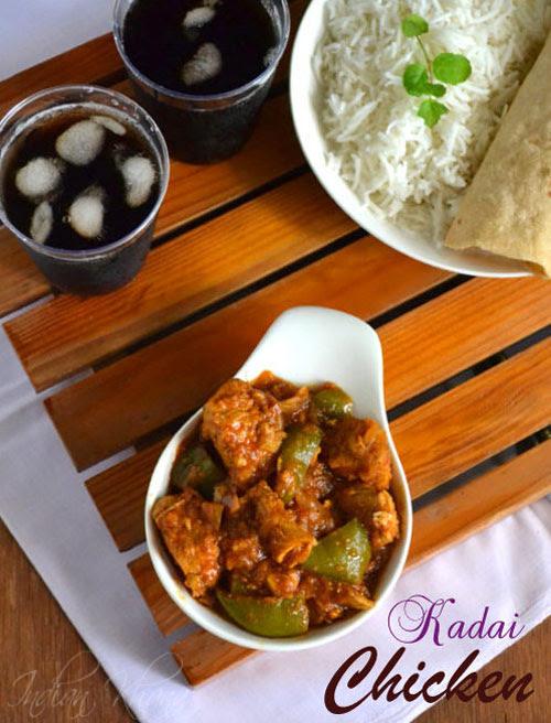 Kadai Chicken Chicken Recipes
