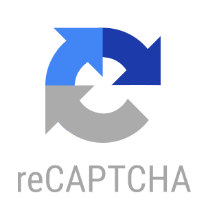The logo of reCAPTCHA