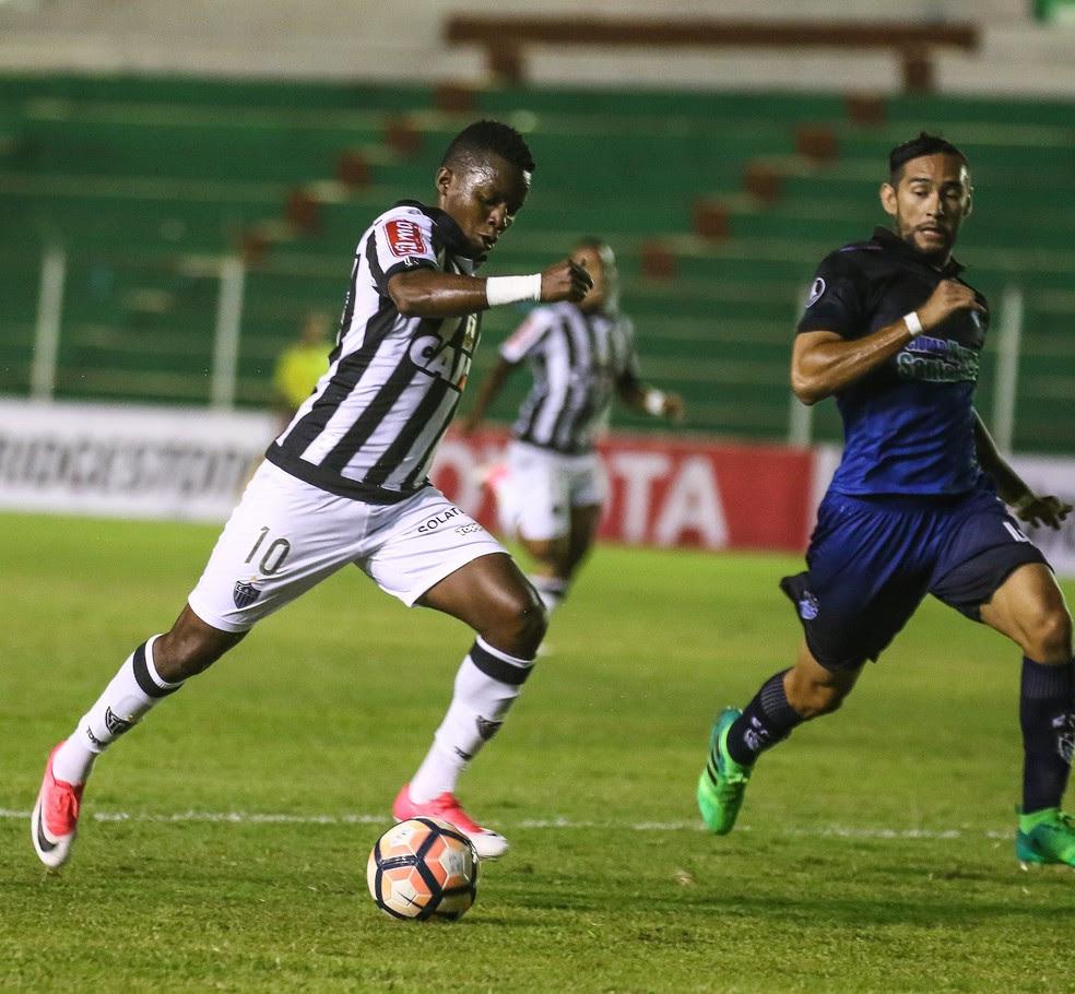 Cazares vive um grande momento no Atlético-MG (Foto: Bruno Cantini / Atlético-MG)