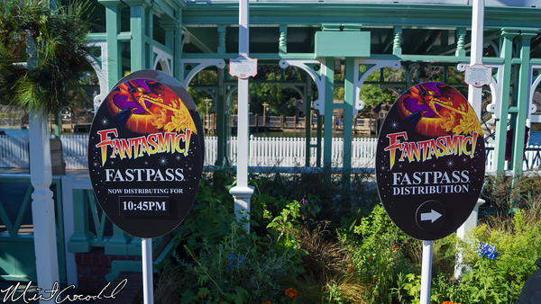 Disneyland Resort, Disneyland, Fantasmic, FastPass, Fast, Pass