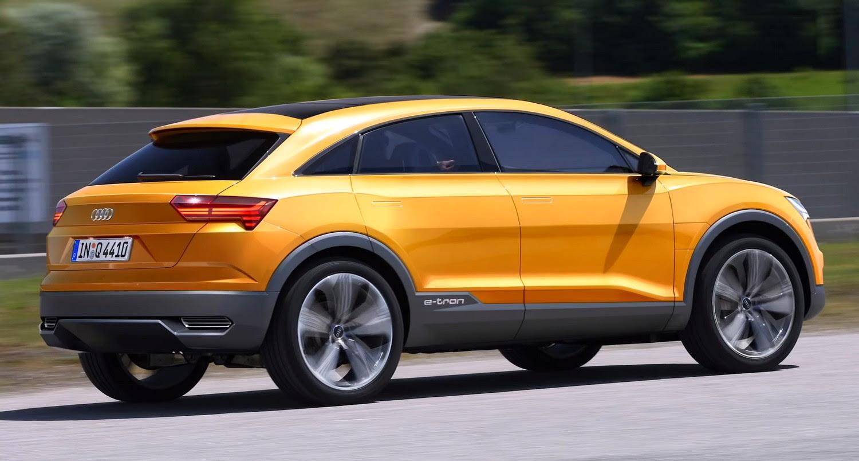 2020 Audi Q4 E-Tron Concept, New Pictures