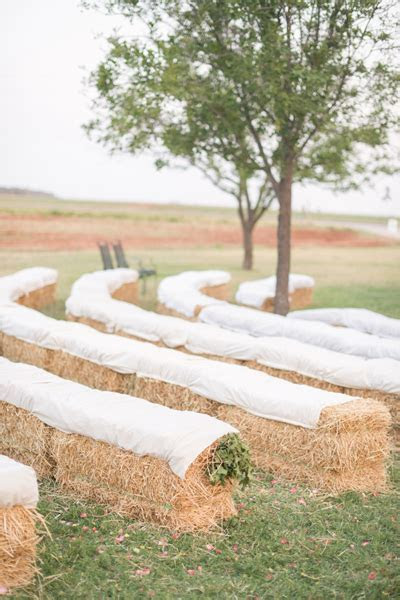 Uses for bales of hay at your Pittsburgh wedding