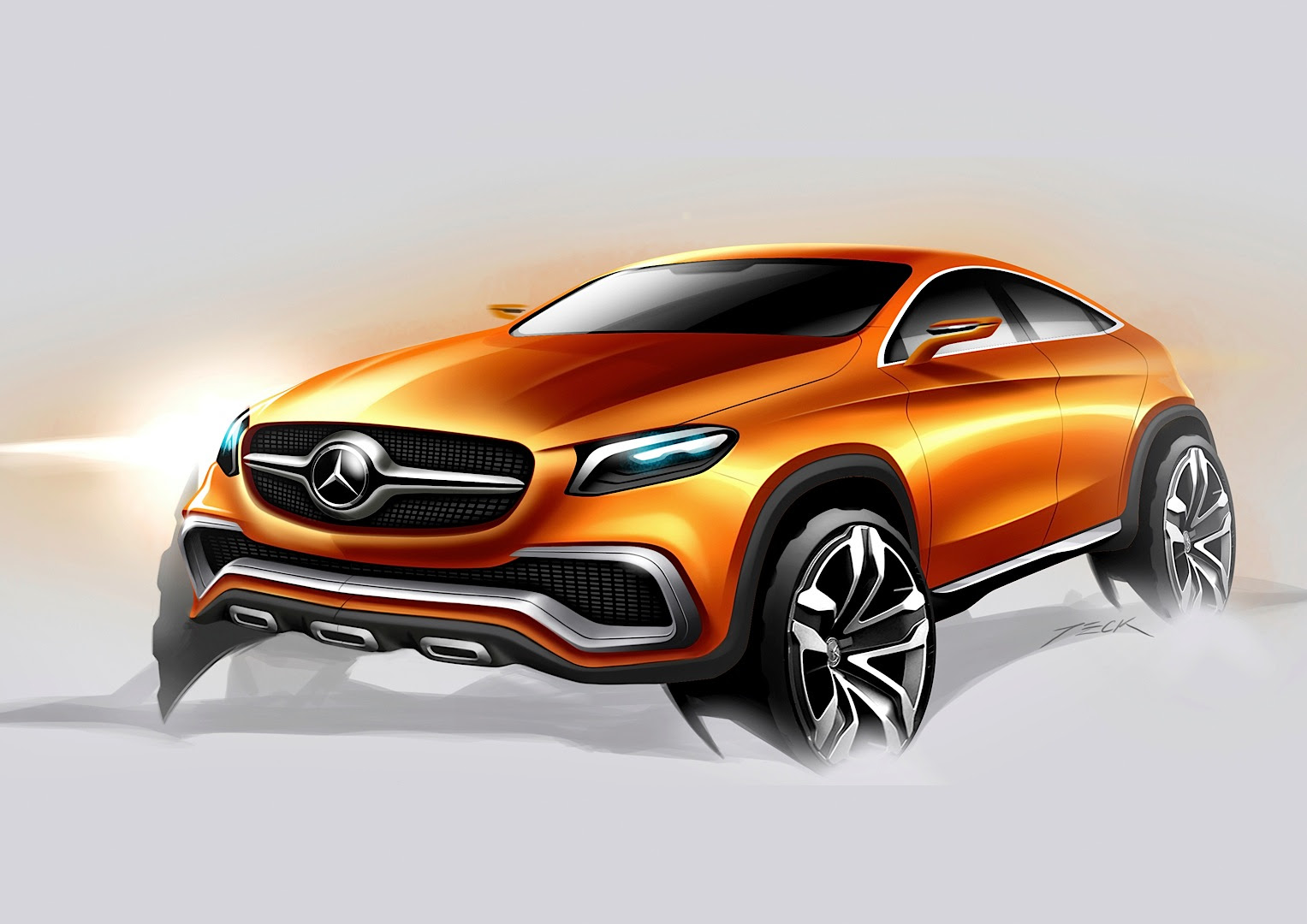 Mercedes-Benz Concept Coupe SUV Officially Revealed ...