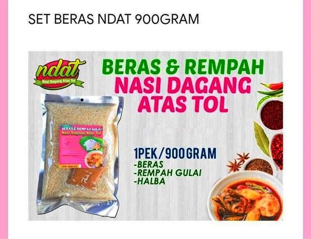 Resepi Nasi Dagang Terengganu dari Nasi Dagang Atas Tol Beli di Shopee