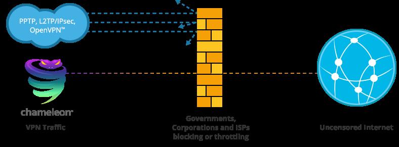 Chameleon Diagram