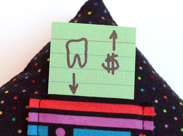 Tooth Fairy Pillow directions