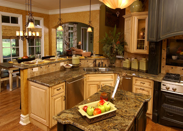House Plans With Gorgeous Kitchen Islands | The House Designers Blog