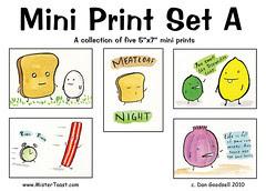 Mini Print Set A