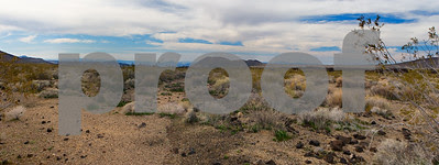 Mojave desert pano from Aiken Mine Road