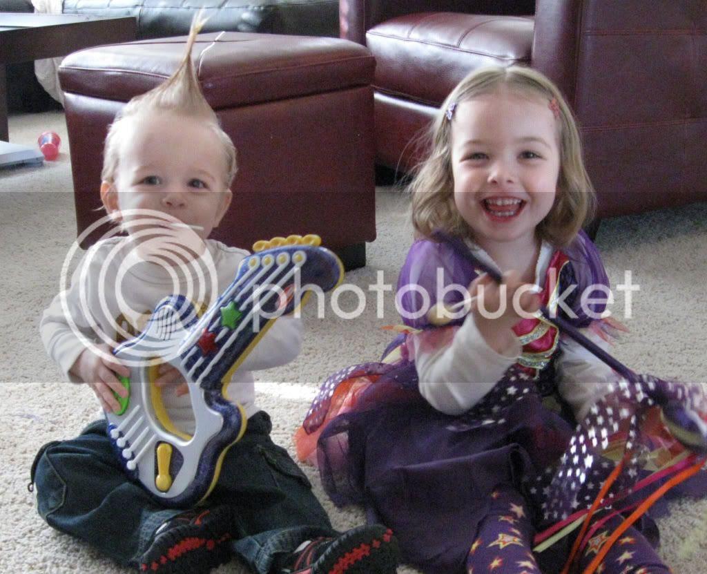 rock star magical princess Halloween costume kids