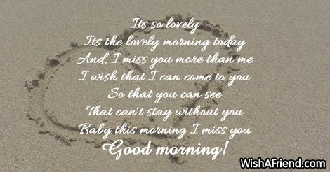 Good Morning Poem For Girlfriend Its So Lovely