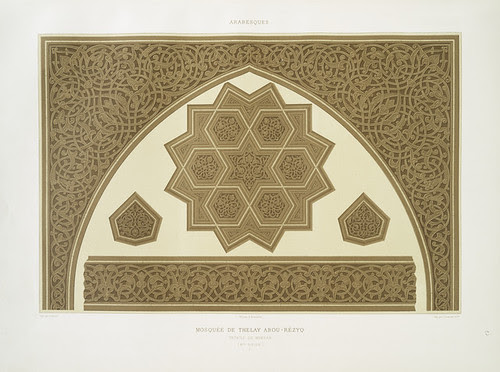 mosquée de Thelay Abou-Rézyq - détails du mimbar (XVe. siècle)