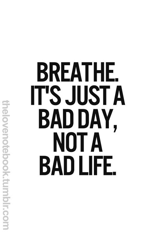 Quotes About Good Days And Bad Days 68 Quotes
