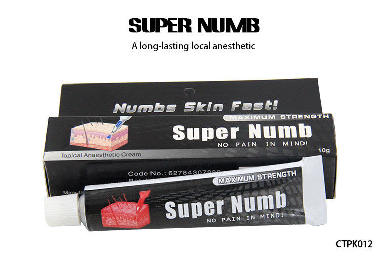 10g Super Numb 5 Anesthetic Skin Numbing Cream For Tattoos Laser