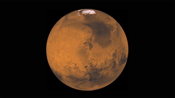 Planet Mars, Gurun Tandus Tak Berpenghuni oleh - tatasuryablog.xyz