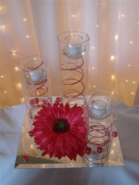 CENTERPIECES   Wedding ideas   Pinterest   Gerber daisies