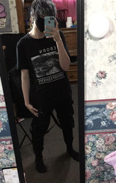 rxbxrn vaporfashion vapor  black clothes