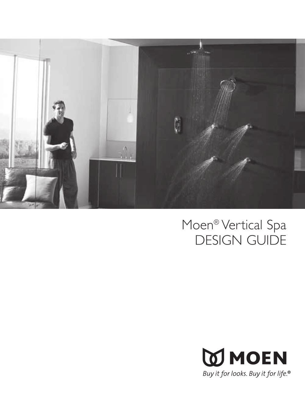 Moen Vertical Spa Design Guide Moen Pdf Catalogs