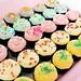 colourful mini cupcakes