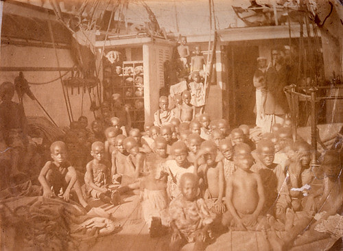 Rescued East African slaves,