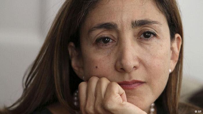 USA Kolumbien Ingrid Betancourt stellt ihr Buch vor in New York