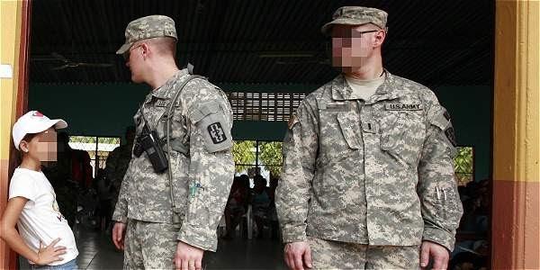 Resultado de imagen para MILITARES DE EEUU VIOLAN NIÑAS COLOMBIANAS