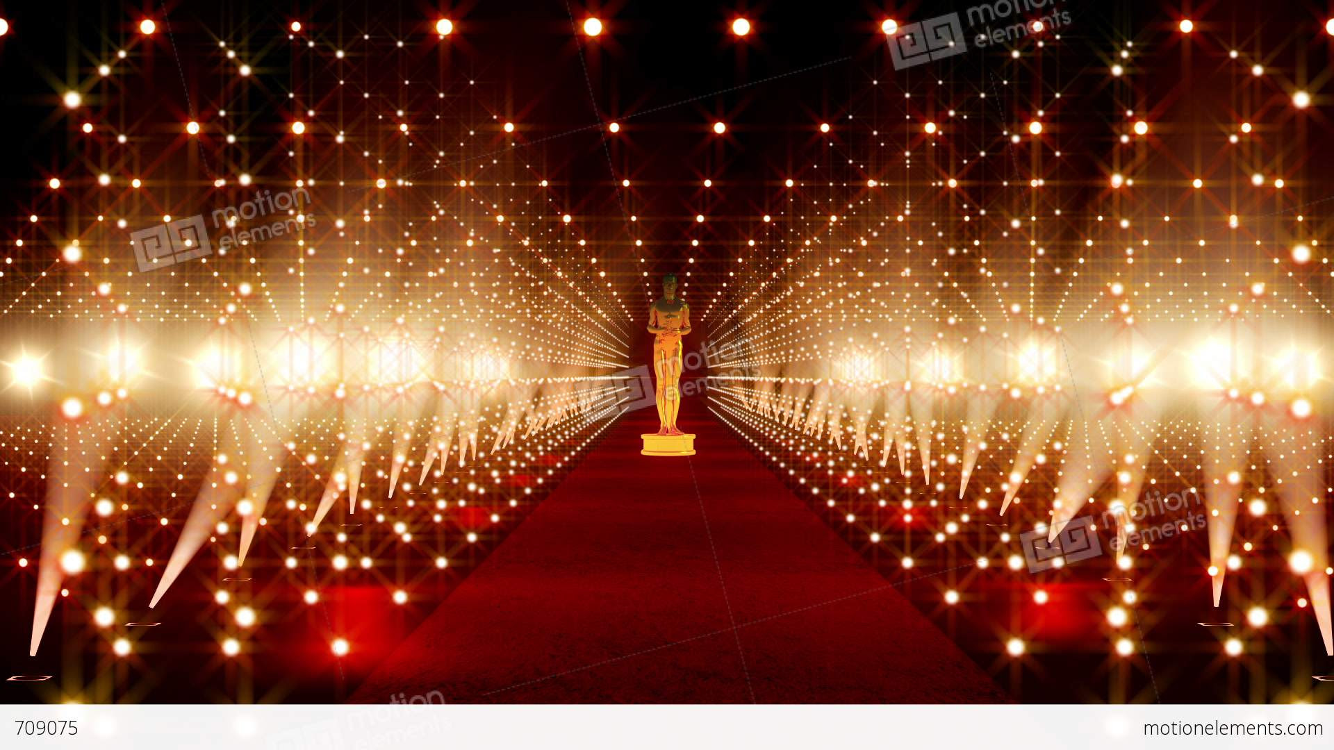On The Red Carpet 14 Award Stock Animation | 709075
