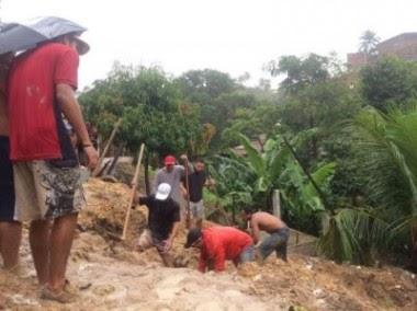Chuva na Grande Maceió deixa 4 mortos, 33 feridos e 250 famílias desalojadas