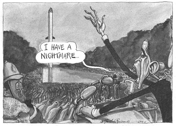 Martin Rowson cartoon 29.08.2013