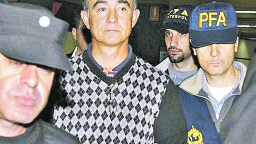 Marche preso. poch, cuando fue extraditado el 6 de mayo pasado.