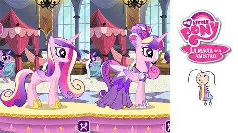 Dress up game My Little pony Princess Cadance Juego de