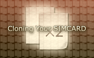 Simcard Cloning