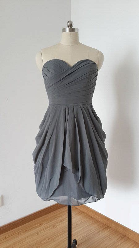 Best 25  Charcoal grey bridesmaid dresses ideas on