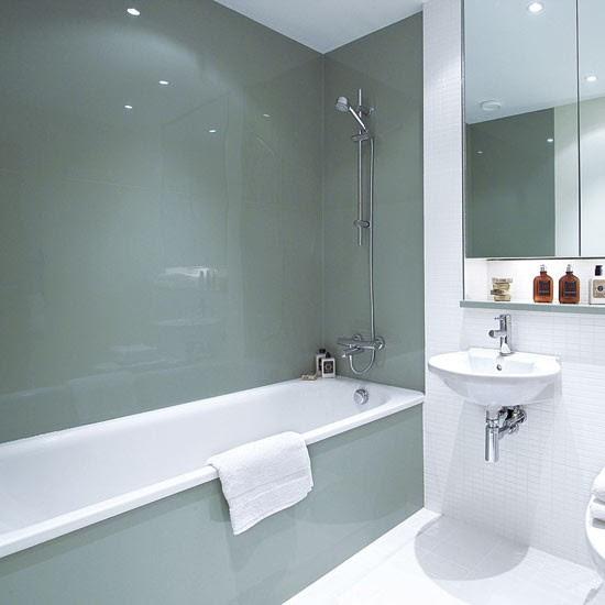Install sleek glass panels | Bathroom design ideas ...