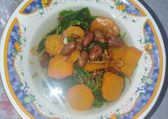 Bagaimana Membuat Sayur Bayam Kacang Merah