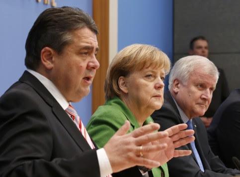 Ανακοινώθηκε η νέα κυβέρνηση της Γερμανίας – Αμετακίνητος ο Σόιμπλε, μπαίνει στην κυβέρνηση και ο Άσμουσεν