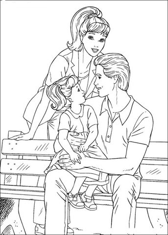 barbie 62 coloring page  free printable coloring pages